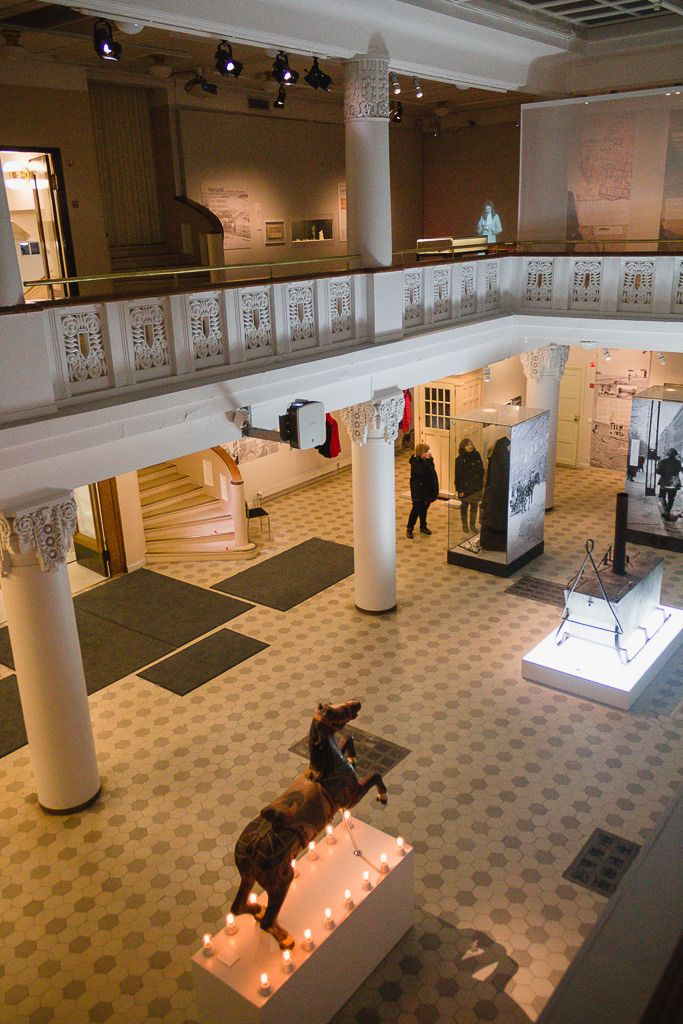Helsinki, January 2015  City Museum, Sofiankatu 4