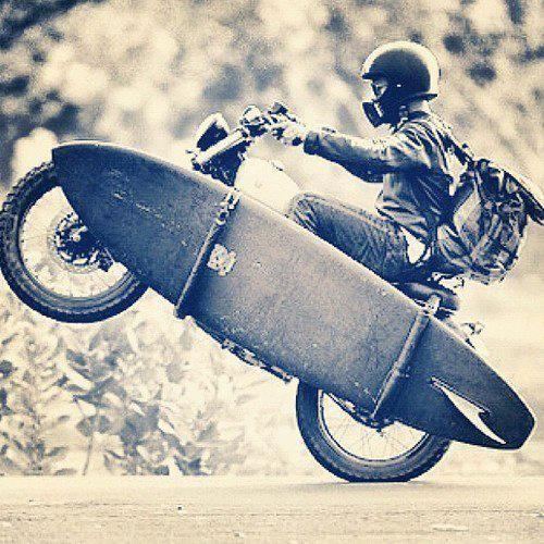 Surfboard-Motorcycle
