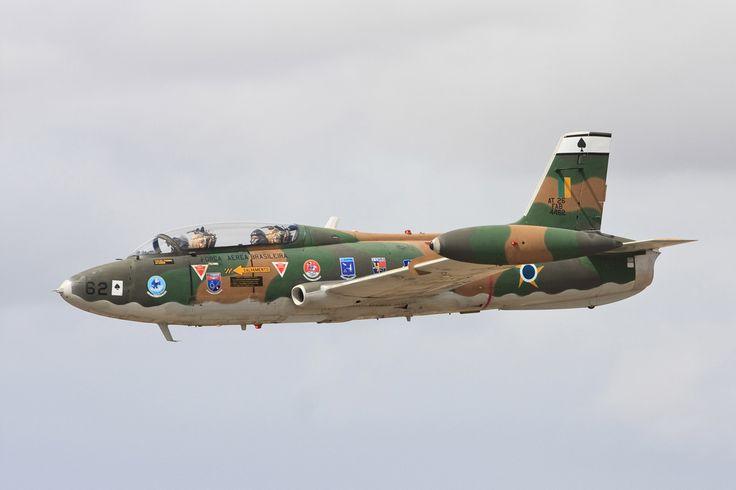 O Xavante foi o primeiro avião com motor a jato fabricado no Brasil (FAB)