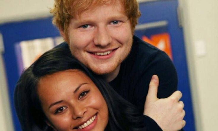Ed Sheeran in New Zealand with Frankie Adams on Shortland Street