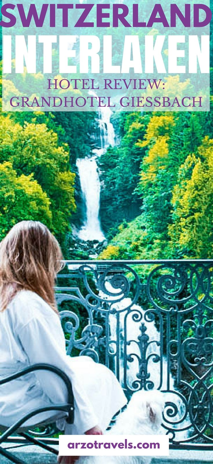 Hotel room with a view: read my #unsponsored hotel review of Grandhotel Giessbach in Interlaken, Switzerland with a view of Lake Brienz and the Giessbachwaterfalls. What to do and see at the hotel. #grandhotelgiessbach #giessbachwaterfalls #interlaken