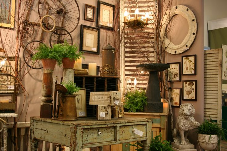 Antique Store Display Ideas | Finally, Photos from the Gardens!
