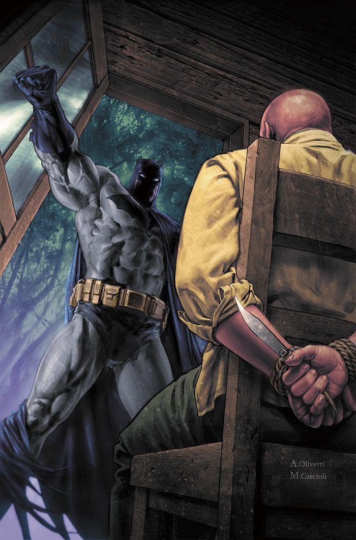 Batman by Ariel Olivetti & Mauro Cascioli