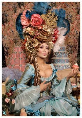 Would love to dress up as Marie Antoinette and have a costume party fancy enough to warrant walking around with that hair
