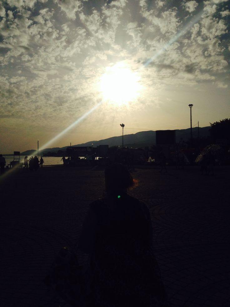 Güneş gidiyor