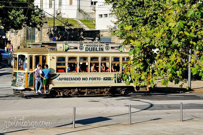 Porto's Heritage Tram 1 To Passeio Alegre