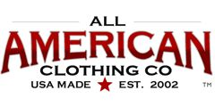 All American Clothing Co.  All clothes are made in America by Americans!  They're prices are reasonable too, which is nice.