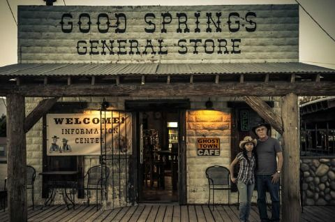 Goodsprings Ghost hunt Tour in Vegas - a scary tour for Las Vegas Halloween