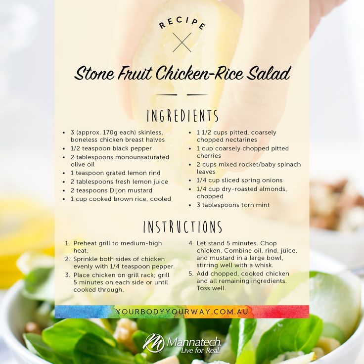 This is what we're having for lunch today!  #foodiefriday #recipe #healthy #mannatechaustralasia