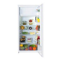 FÖRKYLD Integreret køleskab med fryserum, hvid - IKEA