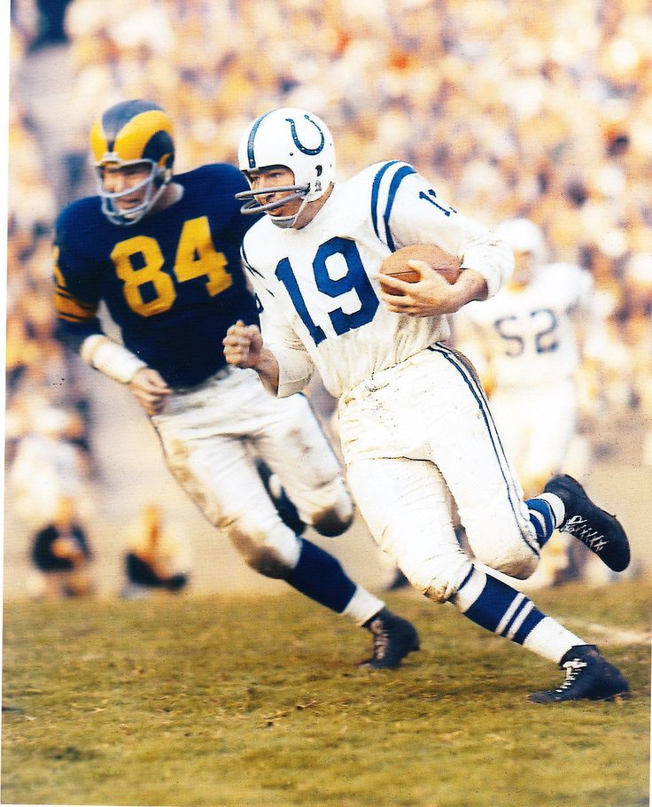 Johnny Unitas HOF Unsigned 8x10 Color Photo Baltimore Colts | eBay