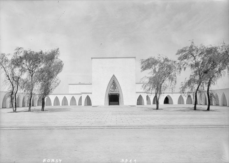 Forst Lausitz, Krematorium, Entwurf von Dr. Rudolf Kühn, 1928/1929