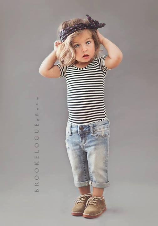 OMG, the cuteness! This outfit reminds me of Dirty Dancing.