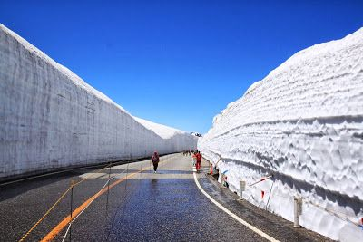 Tateyama-Kurobe alpine route Japan