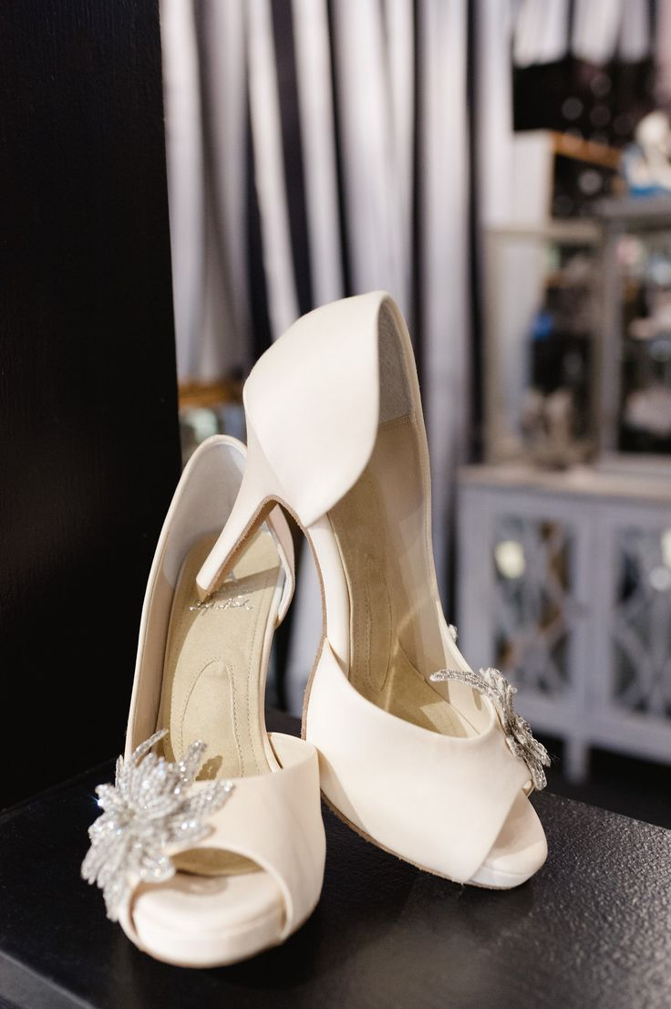 A Hint Of Blush Wedding Shoes By Angela Nuran This Style Is The Serendipity And Exclusive To Left Bank Bridal Photo