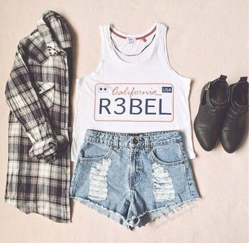 Daily New Fashion : Gorgeous Teenage Outfits#love it and comment