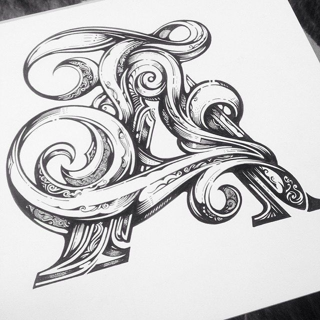 Incredible detail. Type by @vicleelondon | #typegang if you would like to be featured | typegang.com by type.gang