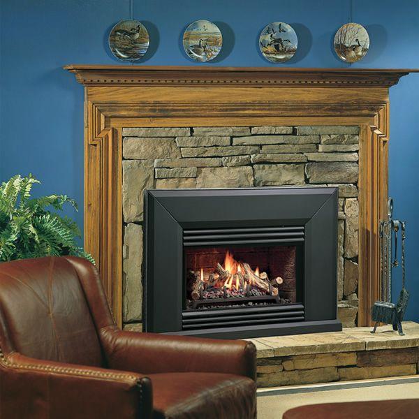 Kingsman Vfi25 Vented Gas Fireplace Insert In 2019 Fireplace