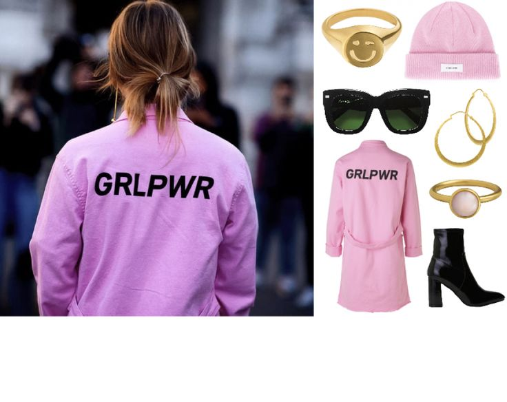 #hviskstylist #hvisk #fashion #blonde #girl #girly #style #stylish #emmabukhave #collage #hviskcreate #boots #grlpwr #girlpower #pink #celinesunglasses #celine #winkemoji #wink #emoji #gold #jewelry
