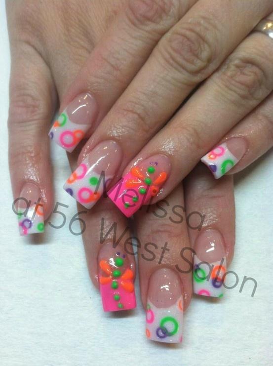 94 best images about long nails art on pinterest for Acrylic toenails salon