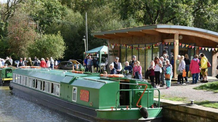 Wey and Arun Canal, bicentenary celebrations, Loxwood, West Sussex.