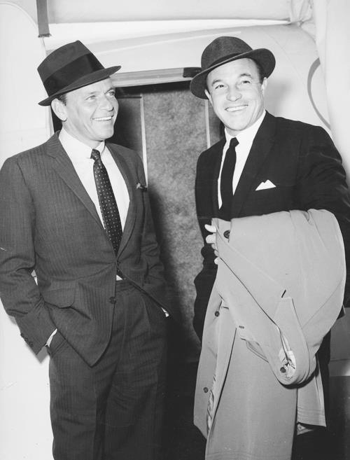 Two of my favorites, Frank Sinatra and Gene Kelly.