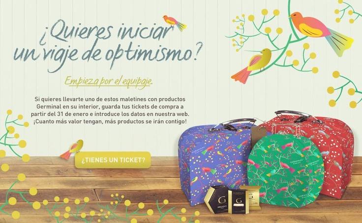PROMOCIÓN GERMINAL  Diseño: Isabel Salas  Redacción: Ana Eguiraun