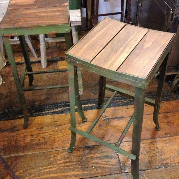 Antiqued Green Bar Stool Wood And Metal - 66 Best Barstools Images On Pinterest