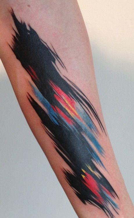 Amanda Wachob. Brooklyn, New York.: Tattoo Ideas, Amanda Wachob, Watercolor Tattoos, Colors Tattoo, Tattoo Artists, Abstract Tattoo, Tattoo'S, Tattoo Ink, Watercolour Tattoo