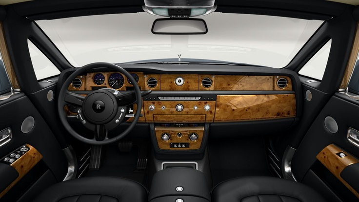 Rolls Royce Phantom Coupe -  Elm Cluster wood
