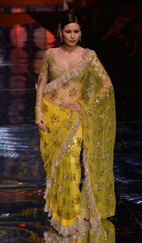by Rina Dhaka #saree #sari #blouse #indian #outfit #shaadi #bridal #fashion #style #desi #designer #wedding #gorgeous #beautiful