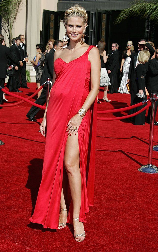 She just does pregnancy so well!  Heidi Klum: Primetime Emmy Awards 2006