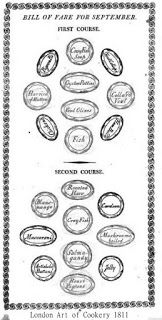 """Table map for a simpler menu """"a francaise"""""""