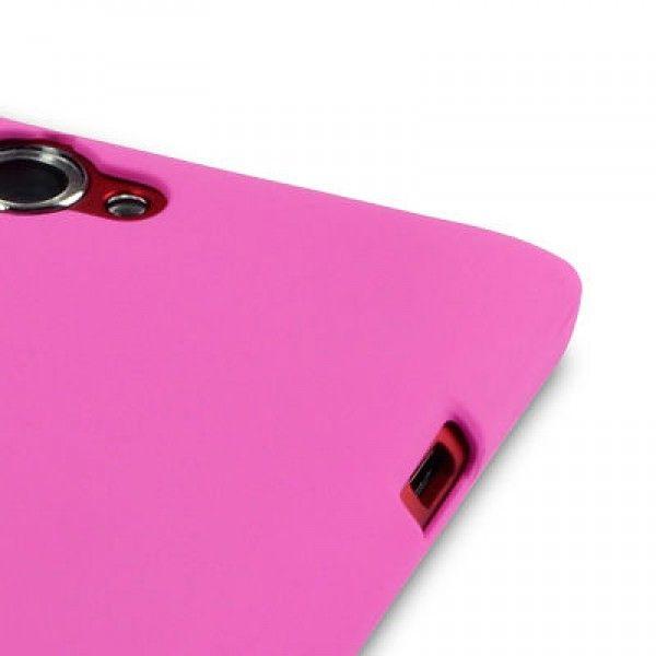 Θήκη Sony Xperia L by Terraprin - Ροζ (151-005-059) - myThiki.gr - Θήκες Κινητών-Αξεσουάρ για Smartphones και Tablets - Χρώμα ροζ