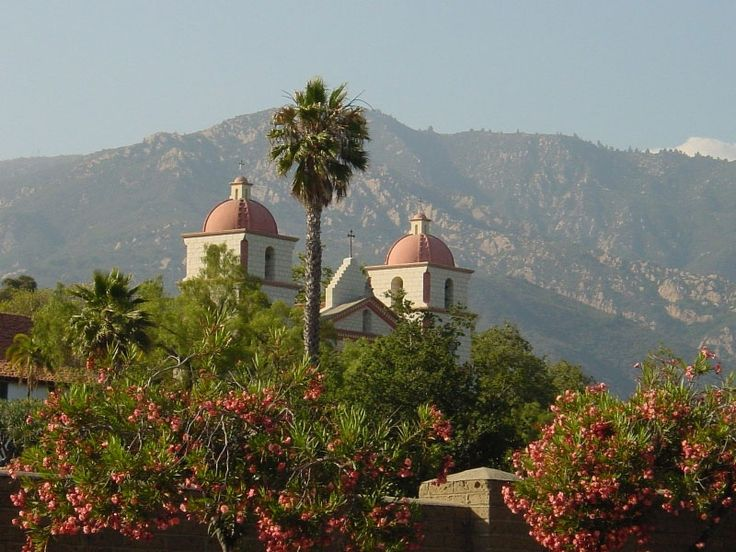 Santa Barbara Mission Gardens