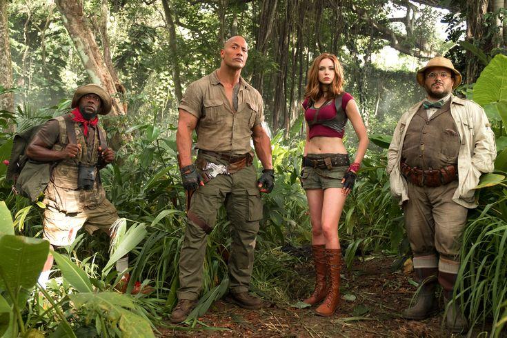 Jumanji Welcome To The Jungle Movie Cast