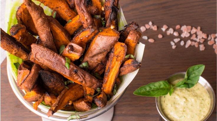 Healthier Sweet Potato Fries Recipe