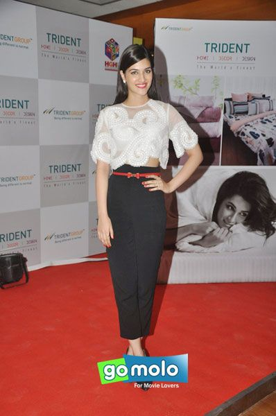 Kriti Sanon at the Launch of Trident Limited's latest bath & home linen collection in Mumbai