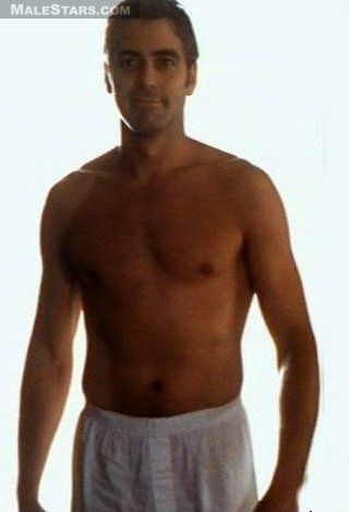 George Clooney Picture Sexxxiest Body Shot Navels