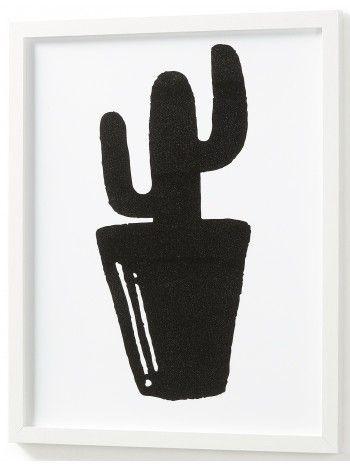 Una meravigliosa stampa di un cactus. Magnifica idea regalo per la persona amata, il cactus è simbolo di legame duraturo, di perseveranza. Ecco perchè viene usato anche nei tatuaggi tra innamorati.