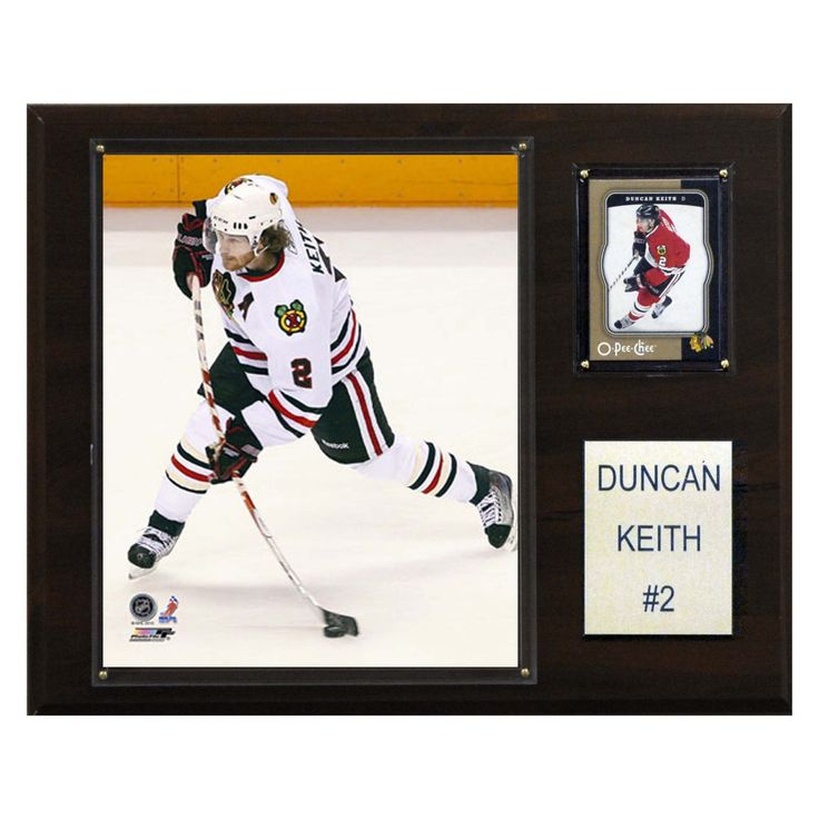 NHL 12 x 15 in. Duncan Keith Chicago Blackhawks Player Plaque - 1215DKEITH