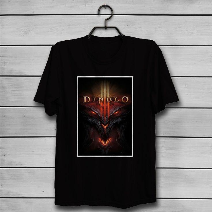 Diablo 3 Games Custom T-Shirt Tank Top Men and Woman