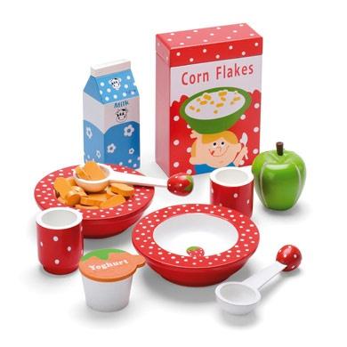 Toy breakfast set