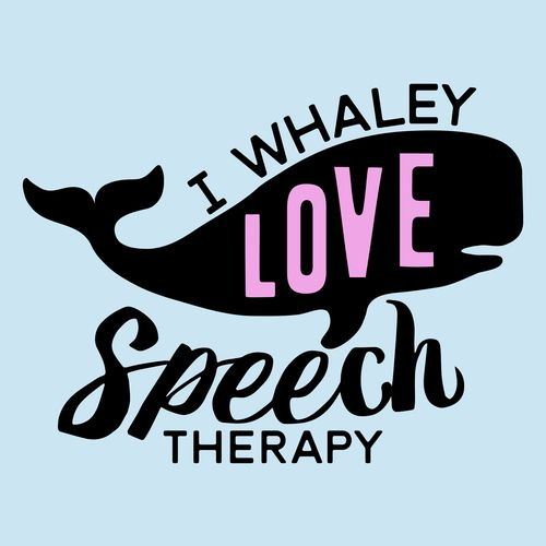 I whaley love Speech Therapy. I also love puns! This is a fun nautical whale pun for SLPs. It's available on t-shirts, hoodies, sweat shirts, tote bags, mugs, mouse pads, and more!