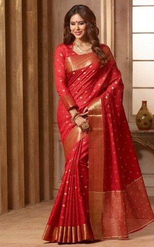 Art Silk - Red