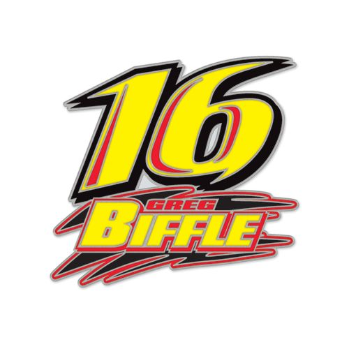 Greg Biffle Hat Pin (2438), $5.95 (http://store.roushcollection.com/stocking-stuffers/greg-biffle-hat-pin-2438/)