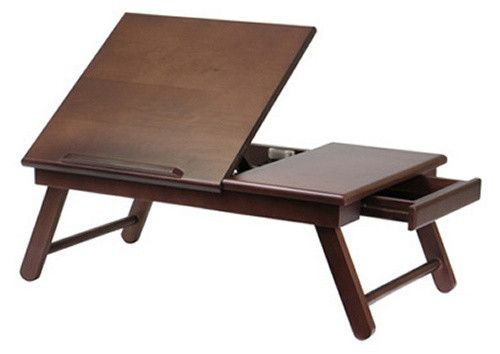 Winsome Alden Lap Tray with Drawer - Desks at Hayneedle
