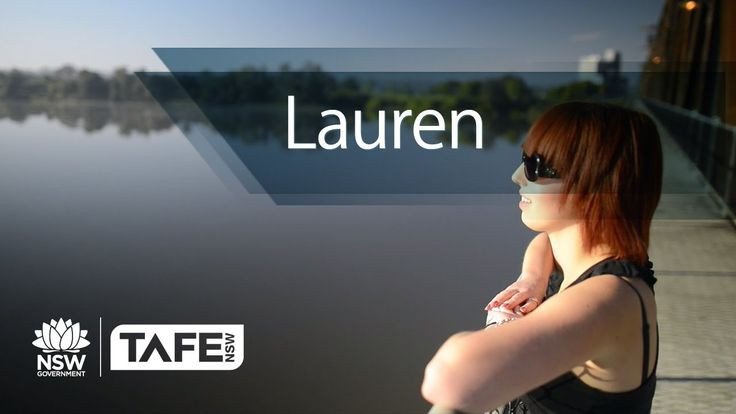 Grafton has a world class hairdresser in Lauren...trained by North Coast TAFE!