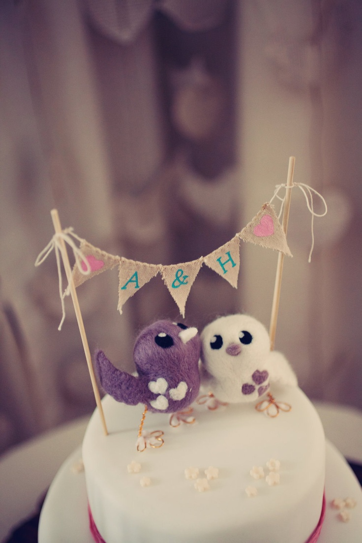 40 Best Cake Toppers Images On Pinterest Cake Banner Bunting - Mikasa Wedding Cake Topper