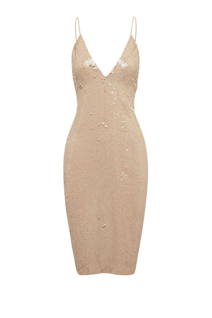 SEQUIN DRESS - DRESSES